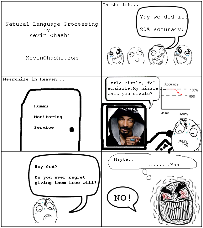 Natural Language Processing Comic by Kevin Ohashi